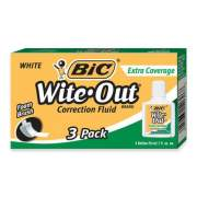 BIC Extra-Coverage Wite-Out Brand Correction Fluid (WOFEC324)