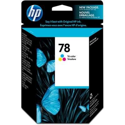 HP 78 Tri-color Original Ink Cartridge (C6578DN)