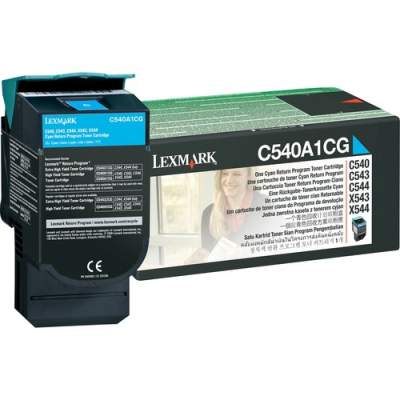 Lexmark C540A1CG Original Toner Cartridge