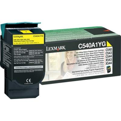 Lexmark C540A1YG Original Toner Cartridge