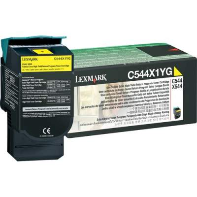 Lexmark Original Toner Cartridge (C544X1YG)