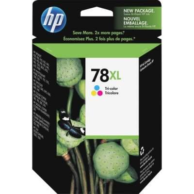 HP 78XL High Yield Tri-color Original Ink Cartridge (C6578AN)
