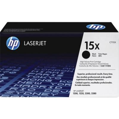 HP 15X High Yield Black Original LaserJet Toner Cartridge (C7115X)