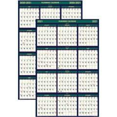 House of Doolittle Eco-friendly 18 Month Laminated Wall Calendar (391)