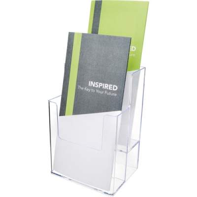 Deflecto Multi-Compartment DocuHolder - Extra-Deep Leaflet Display (77201)