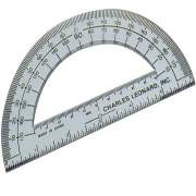"Charles Leonard CLI 6"" Open Center Protractor (77106)"