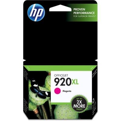 HP 920XL High Yield Magenta Original Ink Cartridge (CD973AN)