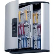 DURABLE Brushed Aluminum Combo Lock 36-Key Cabinet (196623)