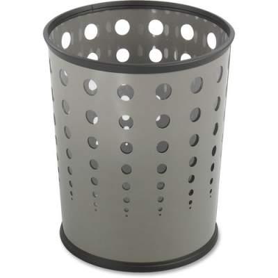 Safco Steel Bubble Wastebaskets (9740GR)