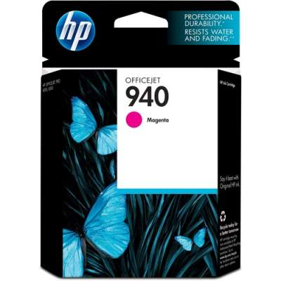 HP 940 Magenta Original Ink Cartridge (C4904AN#140)