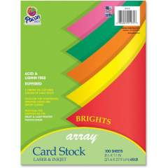 Pacon Laser Printable Multipurpose Card Stock - 10% Recycled (101175)