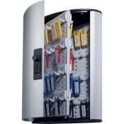 DURABLE Brushed Aluminum Combo Lock 72-Key Cabinet (196723)