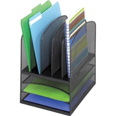Safco Onyx Mesh Letter Tray Desktop Organizer (3266BL)