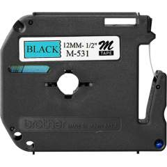 Brother P-touch Nonlaminated M Series Tape Cartridge (M531)