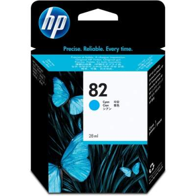 HP 82 69-ml Cyan DesignJet Ink Cartridge (C4911A)