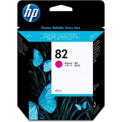 HP 82 69-ml Magenta DesignJet Ink Cartridge (C4912A)