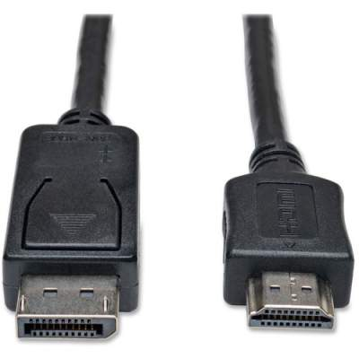 Tripp Lite 6ft DisplayPort to HDMI Adapter Cable Video / Audio Cable DP M/M (P582-006)
