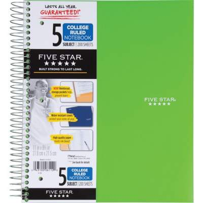 ACCO Mead Wirebound College-ruled Notebook (06112)