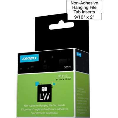 Newell Rubbermaid Dymo Hanging File Tab Inserts (30376)