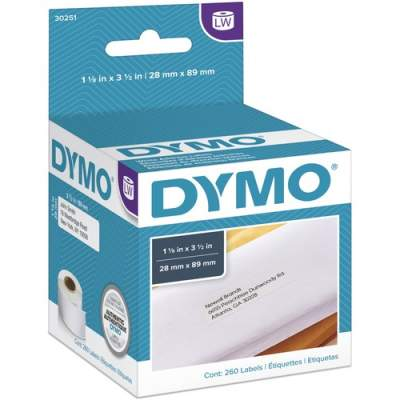 Newell Rubbermaid Dymo White Address Labels (30251)