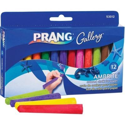 Dixon Ticonderoga Dixon Gallery Ambrite Colored Chalk (53012)