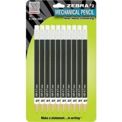 Zebra Push Eraser No. 2 Mechanical Pencils (51311)