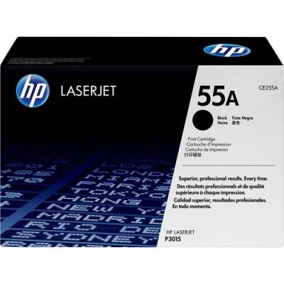 HP 55A Black Original LaserJet Toner Cartridge (CE255A)