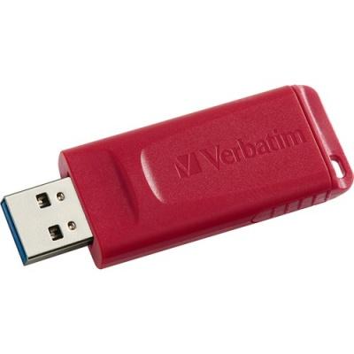 Verbatim 64GB Store 'n' Go USB Flash Drive - Red (97005)