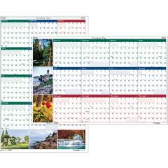 House of Doolittle Earthscapes Scenic Wipe-off Wall Planner (3931)
