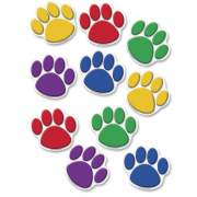 Teacher Created Resources Colorful Paw Prints Accent (4114)