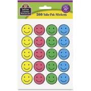 Teacher Created Resources Valu-Pak Happy Face Sticker (6632)