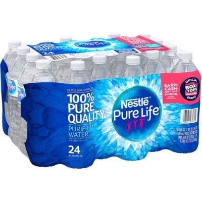 Nestle S.A Pure Life Purified Bottled Water (101264)