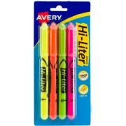 Avery Pen-Style, Assorted Colors, 4 Count (23545)