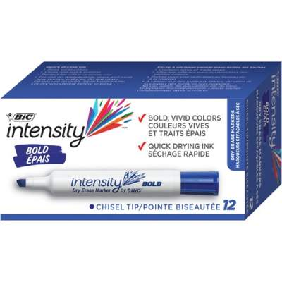 BIC Intensity Bold Color Dry Erase Markers (DEC11BE)