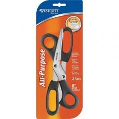 """Westcott 8"""" All-purpose Bent Scissors (13402)"""