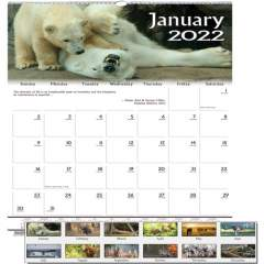 House of Doolittle Earthscapes Wildlife Wall Calendars (3731)
