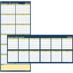 House of Doolittle Laminated Yearly Wall Planner (3974)