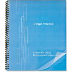 GBC Lined Design Binding Presentation Covers (2514477)