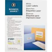 Business Source Bright White Premium-quality Address Labels (21051)