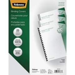 Fellowes Futura Presentation Covers Letter, Frosted 25 pack (5224301)