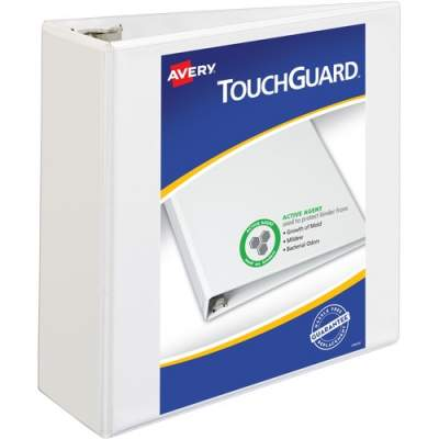 Avery TouchGuard(TM) Protection Heavy Duty View Binders, 4