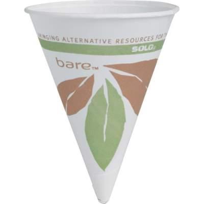 SOLO Cup Company Solo Cup 4oz Bare Paper Cone Cup (4BRJ8614PK)