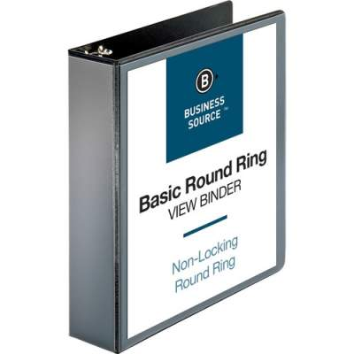 Business Source Round-ring View Binder (09956)
