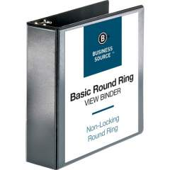 Business Source Round-ring View Binder (09958)