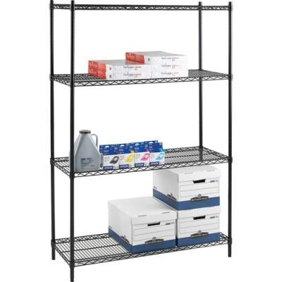 Lorell Industrial Adjustable Wire Shelving Starter Unit (69145)