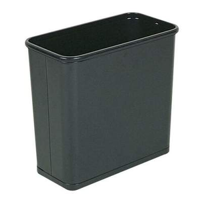 Rubbermaid Commercial Fire-Safe Rectangle Wastebasket (WB30RBK)