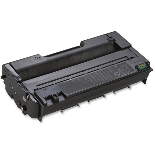 2 Pack 5,000 Pages Smart Print Supplies Compatible 406464 406465 406989 MICR Black Toner Cartridge Replacement for Ricoh Aficio SP3400 3410 3500 3510 Printers