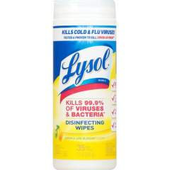 LYSOL Lemon/Lime Disinfect Wipes (81145)
