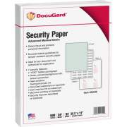 Paris Corporation DocuGard Advanced Security Paper for Printing Prescriptions & Preventing Fraud, 7 Features (04542)