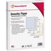 DocuGard Standard Security Paper for Printing Prescriptions & Preventing Fraud, 6 Features (04544)